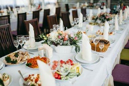 Δεξίωση γάμου με Catering
