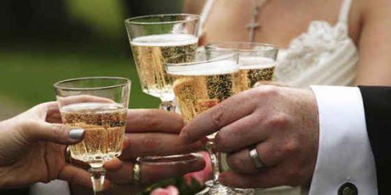 Ποτά για τη δεξίωση γάμου